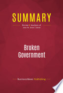 Summary  Broken Government