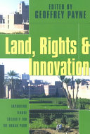 Land Rights And Innovation
