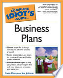 The Complete Idiot s Guide to Business Plans
