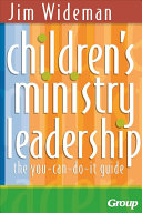 Children s Ministry Leadership