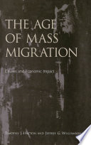 The Age of Mass Migration