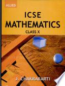 ICSE Mathematics Class x