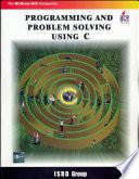 Programing   Prob Solving Using C