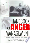 Handbook Of Anger Management