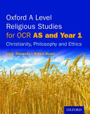 Oxford a Level Religious Studies for OCR  AS and Year 1 Student Book