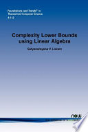 Complexity Lower Bounds Using Linear Algebra