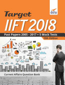 download ebook target iift 2018 (past papers 2005 - 2017) + 5 mock tests 10th edition pdf epub