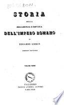 Storia della decadenza e rovina dell impero romano di Edoardo Gibbon