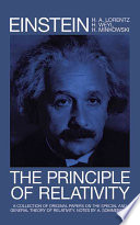 The Principle of Relativity Book PDF