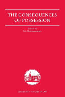 Consequences of Possession Book
