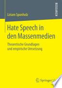 Hate Speech in den Massenmedien