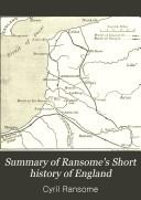 Summary of Ransome's Short History of England