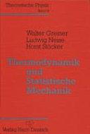 Thermodynamik und statistische Mechanik