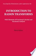 Introduction to Radon Transforms