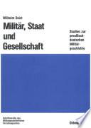 Militär, Staat und Gesellschaft.