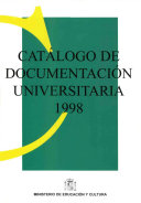 Catálogo de documentación universitaria 1998