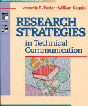 Research strategies in technical communication