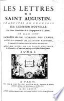 """""""Les"""" Lettres De Saint Augustin"""