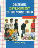 Observing Development of the Young Child Book PDF
