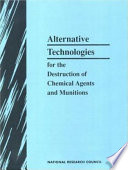 Alternative Technologies for the Destruction of Chemical Agents and Munitions