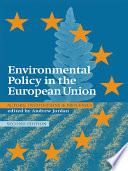 Environmental Policy in the EU