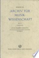 Anton Weberns Lieder Op  3