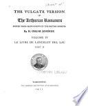 The Vulgate Version of the Arthurian Romances Book PDF