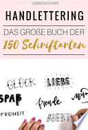 Handlettering  Das gro  e Buch der 150 Schriftarten