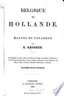 Belgique et Hollande