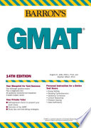 Barron's GMAT Admission Tests As It Is Given In