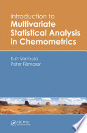 introduction to multivariate statistical analysis in chemometrics
