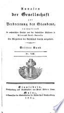 Annalen der Gesellschaft zur Verbreitung des Glaubens