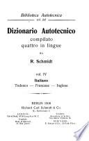 Dizionario autotecnico