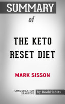 Summary Of The Keto Reset Diet By Mark Sisson Conversation Starters