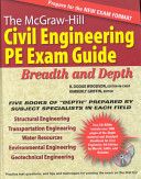 The McGraw Hill Civil Engineering PE Exam Guide