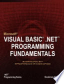 Microsoft Visual Basic .NET Programming Fundamentals