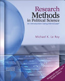 Research Methods in Political Science  Book Only