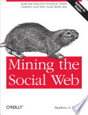 Ebook Mining the Social Web Epub Matthew A. Russell Apps Read Mobile