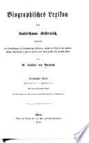 Biographisches Lexikon des Kaiserthums Oesterreich0