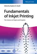 Fundamentals of Inkjet Printing