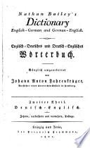 Th. Deutsch-englisch : ...