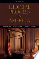 Judicial Process in America  9th Edition