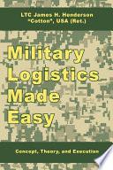 Military Logistics Made Easy