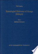 Etymological Dictionary of Gurage  Ethiopic   English Gurage index