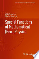 Special Functions of Mathematical  Geo  Physics