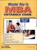 Master Key To Mba Entrance Exams