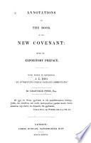 Annotations to the Book of the New Covenant