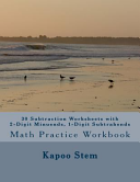 30 Subtraction Worksheets With 2 Digit Minuends 1 Digit Subtrahends book