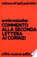 Commento alla seconda lettera ai Corinzi