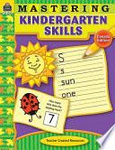 Mastering Kindergarten Skills-Canadian